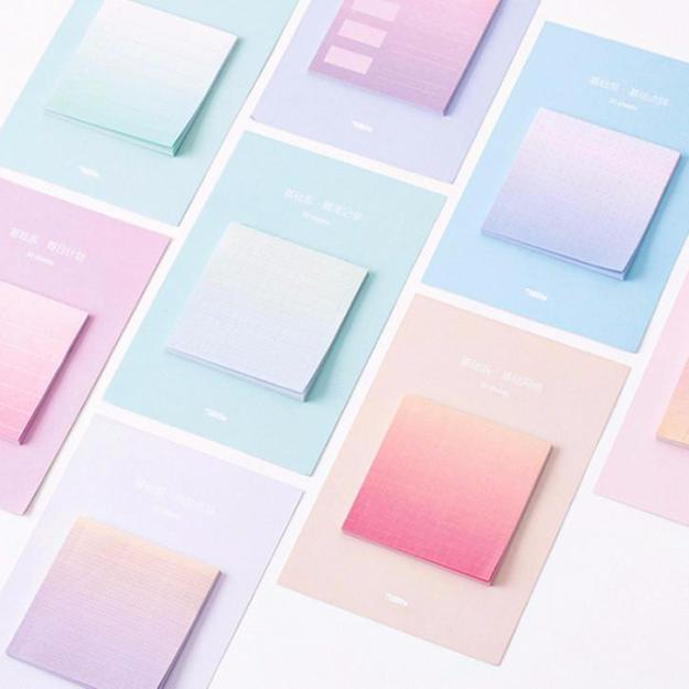 Rainbow-Color-Sticky-Notes
