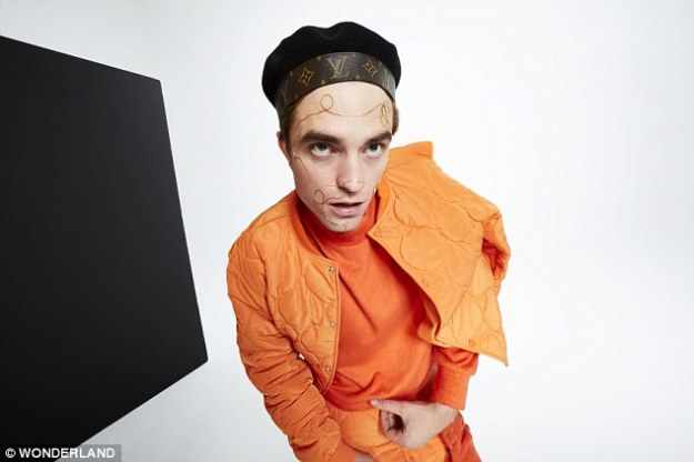 Robert Pattinson Wonderland Magazine