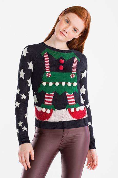 jersey navidad elfo