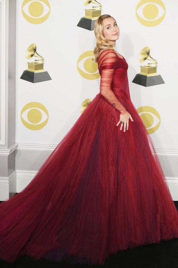 Miley Cyrus Grammy 2018