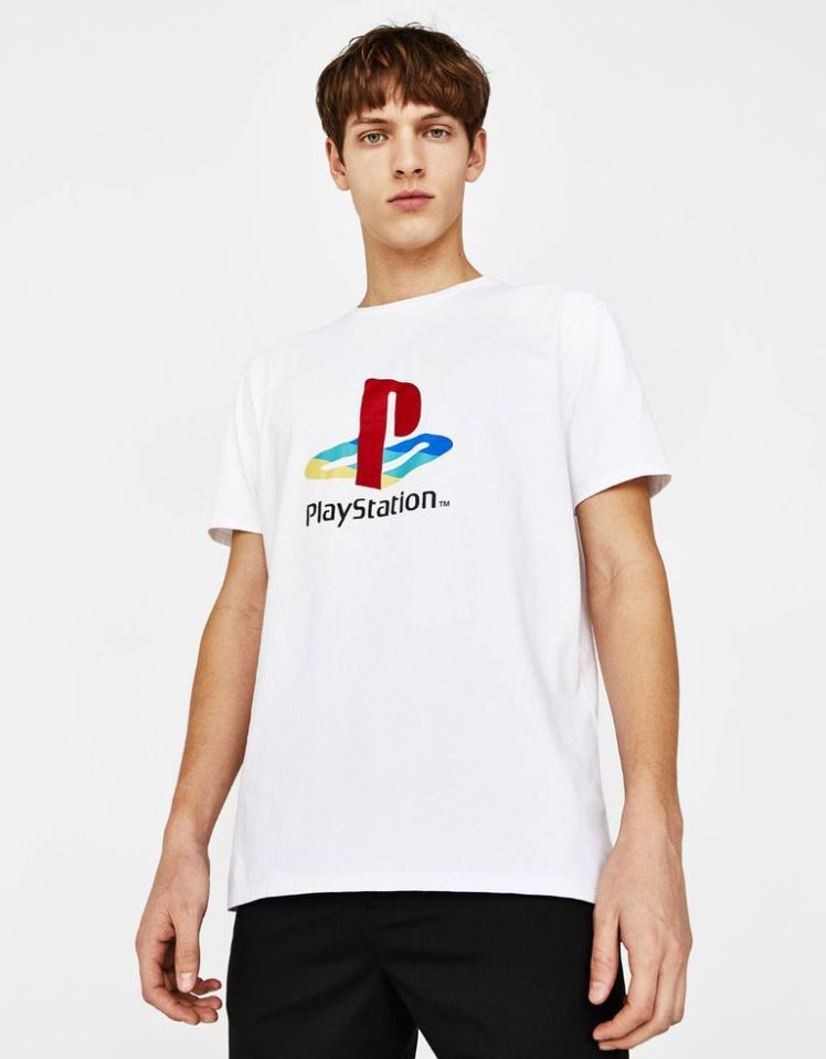 camiseta play station