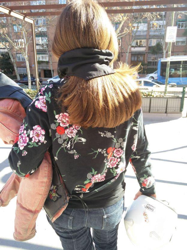 pelo largo casco