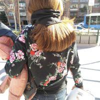 Cómo llevar el pelo largo con casco de moto