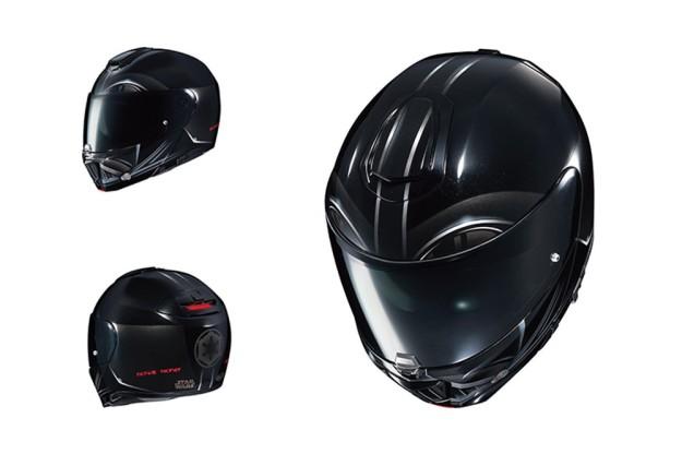Casco Darth Vader moto