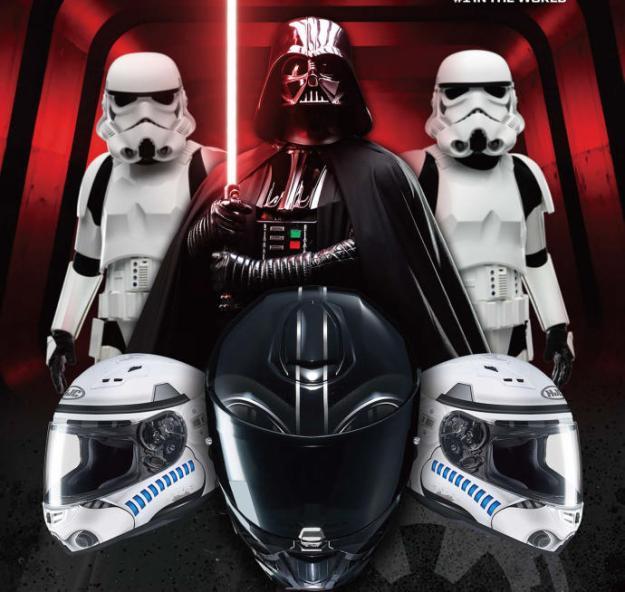 Cascos Star Wars moto