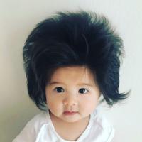 Baby Chanco, la bebé japonesa con mucho pelo que enamora al mundo y a Pantene