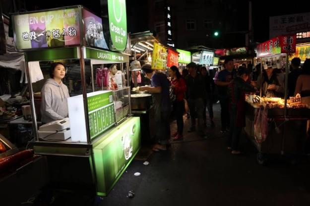 mercado nocturno shiling taipei