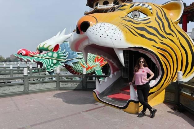 pagoda tigre kaoshiung
