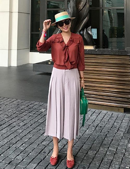 culotte con camisa