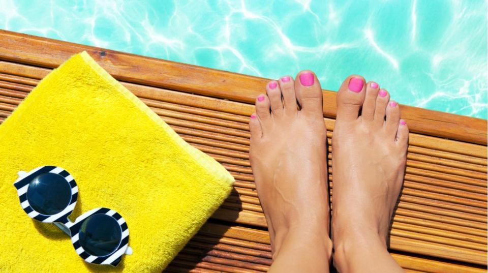 pedicura verano