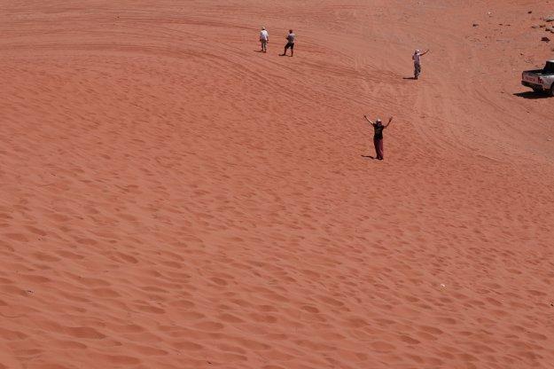 Dormir una noche en el desierto Wadi Rum