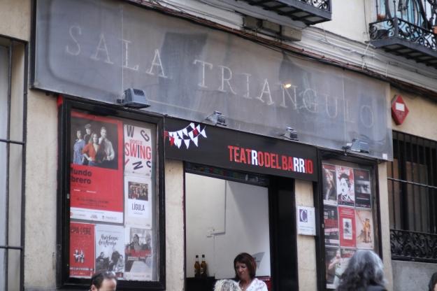 Teatro del barrio fachada