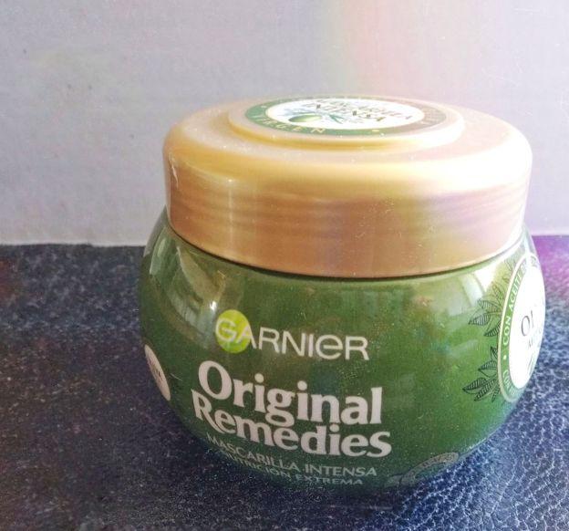 mascarilla oliva mitica original remedies