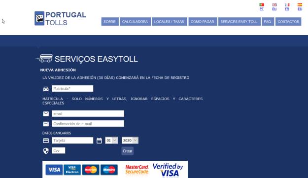 peaje portugal electronico