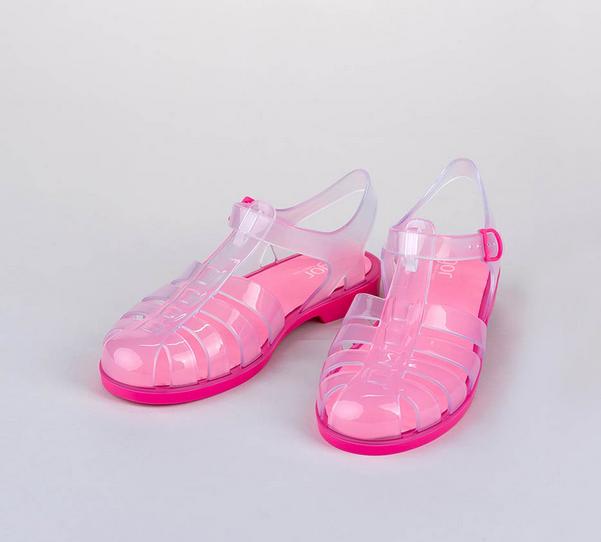 igor shoes cangrejeras rosas